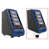 Wholesale 4 * 200W Vertical RC battery balance charger for 4pcs Lipo batteries pack from china suppliers