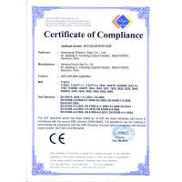 HaoKang Electric Sign Co.,Ltd Certifications