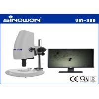 Wholesale 0.7 - 4.5X Horizontal Zoom Lens Coaxial Illumination Video Microscopes Strong Function from china suppliers