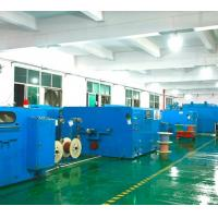 Wholesale 0.6-3.0mm Dia Copper Wire Twisting Machine Centre / Side Wrapping Type from china suppliers