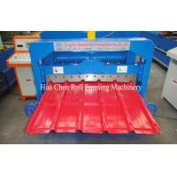 Wholesale IBR Trapezoidal Roof Glazed Tile Roll Forming Machine Sheet Metal Forming Equipment from china suppliers