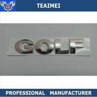 Wholesale ABS Plastic Chrome Car Letter Emblems Sticker Car Nameplate CE from china suppliers