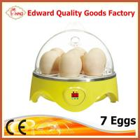 China CE Approved Hot Selling Mini 7 eggs incubator for sale on sale