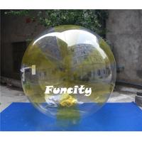 Wholesale Colorful 0.8MM PVC Transparent Inflatable Water Walking Ball  for Water Pool from china suppliers