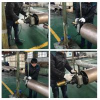 Wholesale Straight Type Electric Pipe Beveling Machine Clamping Range ID 80 - 240mm from china suppliers