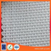 Quality white color solar sunshade fabric Textilene solar screens for sale