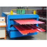 China 380V 60HZ Metal Sheet Forming Machine With 8 - 12m / Min Working Speed on sale