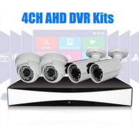 Wholesale Infrared 4CH P2P AHD Security DVR Kit 720P Day / Night Bullet / Dome Cameras from china suppliers