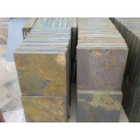 Quality Natural Split Surface Chinese Rusty Slate Walkway Multicolor Slate Floor Tiles Slate Paving Stone for sale