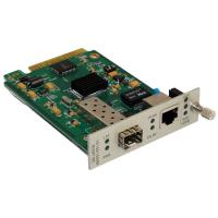 Wholesale Managed Card Type / Stand Alone Fiber Optic Media Converter With SFP Transceiver from china suppliers