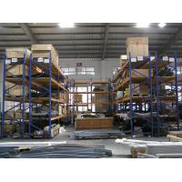 Wholesale Galvanized / powder coated finished double deep pallet rack for Factory from china suppliers
