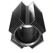 Wholesale Hollow Aluminum Extrusion Extruded Aluminum Heatsink 6000 Series T5 T6 from china suppliers