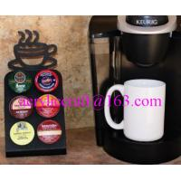 Buy cheap Mini Keurig K-Cup coffee pod holder acrylic coffee capsule display stand from wholesalers