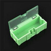 Wholesale Durable Green SMD Storage Box , Plastic Electronic Component Box from china suppliers