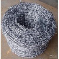 Wholesale Anping Factory direct export Galvanzied Double Twist Barbed Wire fence from china suppliers
