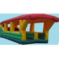 Buy cheap Commercial 2 Lane Inflatable Bungee Run Exciting for 3 People from wholesalers