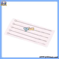 Wholesale Health Safety Stainless Steel Professional Tattoo Needles Round Shader 9RS 5PCS-H00789 from china suppliers