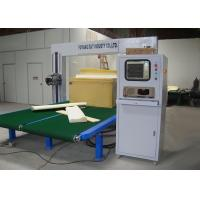 Buy cheap Frame Foam Automatic Oscillating Blade Cutting Machine High Speed Vibrating from wholesalers