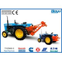 Wholesale Tractor 50kN Conductor Stringing Equipment Hydraulic Puller For Cable Pulling Equipment from china suppliers