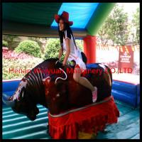 Wholesale Outdoor carnival amusement rides mechanical bull rodeo/inflatable rodeo bull for sale! from china suppliers
