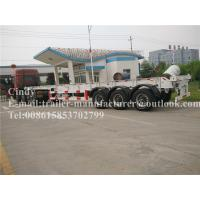 Wholesale Factory / Maritime Transport Container Trailer Chassis 30t 3 Axles from china suppliers
