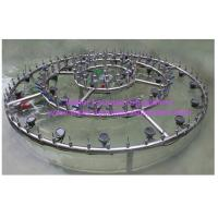 Wholesale 2m OD SS304 Musical Water Fountain Equipment Wedding Cake Fountains from china suppliers