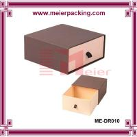 Wholesale Custom slide drawer paper box/Brown Paper Drawer Box Jewelry Gift Box ME-DR010 from china suppliers