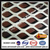 Wholesale 1/2 #20 F carbon steel Flattened expanded metal wire mesh,metal sheet from china suppliers