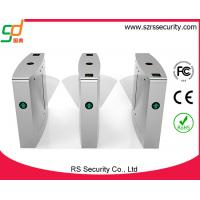 Buy cheap Pedestrian Full Automatic Metal Barrier Gate , Stainless Steel Access Control Gate from wholesalers