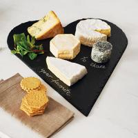 Wholesale Hot sale cheese board with knife slate cheese board cheese board set from china suppliers