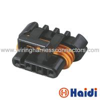 Wholesale Black Plastic Wire Automotive Pin Connector Waterproof Female 4  Pin 12162144 from china suppliers