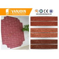 Wholesale Red effective flexible wall tiles flame retardant fireproof wall panels from china suppliers