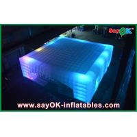 Wholesale OEM Led Cube Giant Inflatable Air Tent For Fairs , 14 X 14m from china suppliers