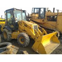 Buy cheap 1 M3 Bucket Capacity Used Backhoe Loader British Used Construction Equipment from wholesalers