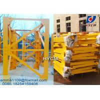 Wholesale 2*2*3m Split Mast Section for Big Model QTZ Civil Tower Cranes Same with Potain from china suppliers