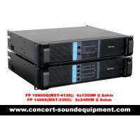 Wholesale DJ Sound Equipment Switch Mode Power Amplifier 4 Channel 4x1300watt from china suppliers