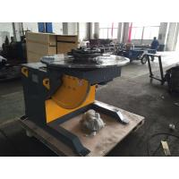 Wholesale 1400mm Table Piping Rotary Welding Positioners With 4 - Jaws Chuck , 2 Ton Rotation Capacity from china suppliers