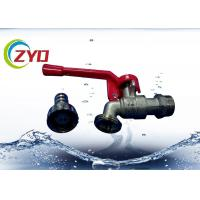 Wholesale Plumbing Valves Bibcock Taps High Strength Aluminum Material Lock Handle from china suppliers