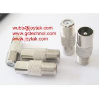 Wholesale Coaxial Adapter Coaxial Adaptor PAL Male To F Female TV Antenna connector / FF.PALM.01 from china suppliers