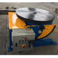 Wholesale Manually Tube Welding Positioner Auto Stop 900mm Round Slot Table from china suppliers