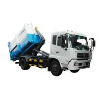 Wholesale 6-14T Garbage Compactor Truck Detachable container garbage collector from china suppliers