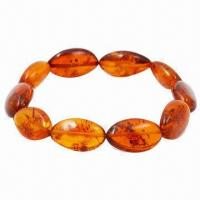 Wholesale Baltic Amber Fashionable Bracelet, Customized Designs Welcomed from china suppliers