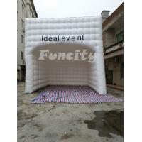 Wholesale 0.55mm PVC Tarpaulin 6mL*6mW Inflatable Cube Tent , Event Inflatable Bubble Tent from china suppliers