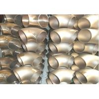 "Wholesale Copper Nickel 70/30 UNS C71500 CuNi 70/30 Lr / Sr 45 / 90 Deg Elbow 6"" 4MM 4.5MM 10 Bar from china suppliers"