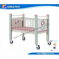Wholesale Flat Hospital Baby bed , Children Furniture Pediatric Bed With Wheels from china suppliers