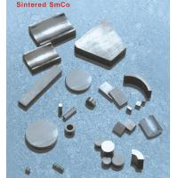Quality Sintered SmCo Strong permanent Magnets SmCo5, Sm2Co17 Materials Grade YX-16, YX-20 for sale