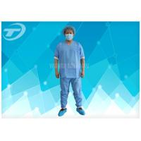 Wholesale Lightweight Anti - Blood Disposable Scrub Suits S - 4XL For Hospital from china suppliers