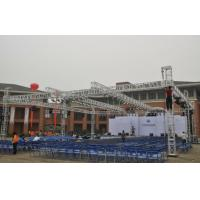 Wholesale Customized Square Aluminum Stage Truss , Event Portable Stage Lighting Truss from china suppliers