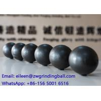 Wholesale SAG and AG Ball milling media ,  forged steel grinding ball WITH 50-55HRC Hardness from china suppliers