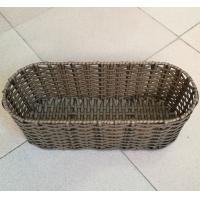 Wholesale China manufactured pp rattan flower planter basket, storage baskets from china suppliers